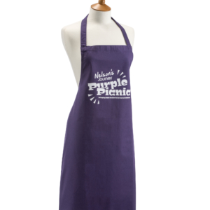 Purple Picnic Apron